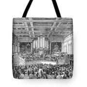Anti-slavery Meeting, 1842 Tote Bag by Granger