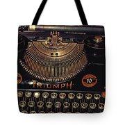 Antiquated Typewriter Tote Bag by Jutta Maria Pusl