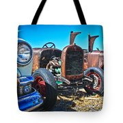 Antique Auto Sales Tote Bag by Steve McKinzie