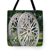 Antique Paddle Wheel University Of Alabama Birmingham Tote Bag by Kathy Clark