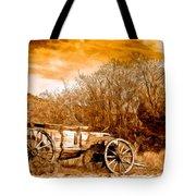 Antique Wagon Tote Bag by Bob and Nadine Johnston