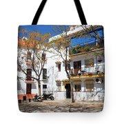 Apartment Houses in Marbella Tote Bag by Artur Bogacki