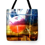 Apple In A Basket Tote Bag by Toni Hopper