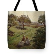 Apple Orchard Tote Bag by Luther  Emerson van Gorder