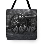 Appomattox Cannon Tote Bag by Teresa Mucha