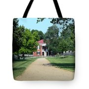 Appomattox County Court House 2 Tote Bag by Teresa Mucha