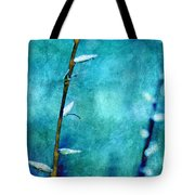 Aqua and Indigo Tote Bag by Aimelle