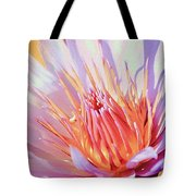 Aquatic Bloom Tote Bag by Julie Palencia