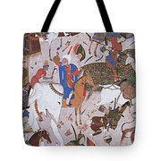 Arab Astronomer Takes Reading Tote Bag by Photo Researchers