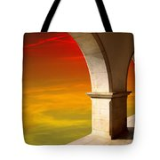 Arches At Sunset Tote Bag by Carlos Caetano