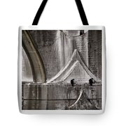 Architectural Detail Triptych Tote Bag by Carol Leigh