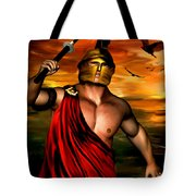 Ares Tote Bag by Lourry Legarde