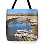Arizona Import - Iconic London Bridge Tote Bag by Christine Till