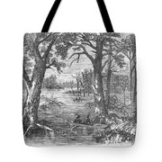 Arkansas: Sunken Lands Tote Bag by Granger