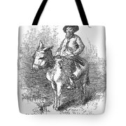 ARKANSAS TRAVELER, 1878 Tote Bag by Granger