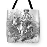 Arkansas Traveler, 1878 Tote Bag by Granger