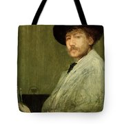 Arrangement In Grey - Portrait Of The Painter Tote Bag by James Abbott McNeill Whistler
