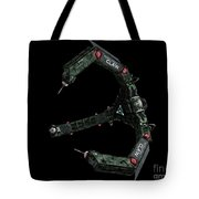 Artists Concept Of The Assimilators Tote Bag by Rhys Taylor