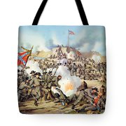 Assault On Fort Sanders Tote Bag by Granger
