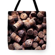 Assorted champagne corks Tote Bag by Garry Gay