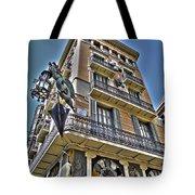 At The Plaza De La Boqueria ... Tote Bag by Juergen Weiss