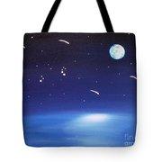 August Celestial Trinity Tote Bag by Alys Caviness-Gober