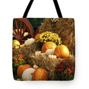 Autumn Bounty Tote Bag by Kathy Clark