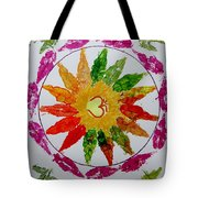 Autumn Chakra Tote Bag by Sonali Gangane