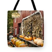 Autumn Farm Stand  Tote Bag by John Greim
