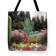 Autumn Gardens In Vancouver Tote Bag by Will Borden
