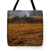 Autumn In Napa Valley Tote Bag by Garry Gay