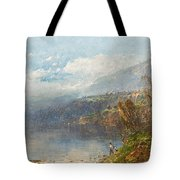 Autumn On The Androscoggin Tote Bag by William Sonntag