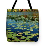 Autumn On The River Tote Bag by Rick Frost