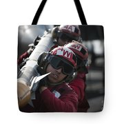 Aviation Ordnancemen Carry An Tote Bag by Stocktrek Images