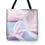Baby socks  Tote Bag by Elena Elisseeva