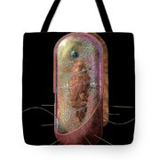 Bacterial Cell Generalised Tote Bag by Russell Kightley