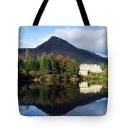 Ballynahinch Castle Hotel, Twelve Bens Tote Bag by The Irish Image Collection