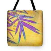 Bamboo Batik II Tote Bag by Judi Bagwell