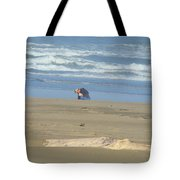 Bandon Oregon Beach Comber Prints Ocean Coastal Tote Bag by Baslee Troutman
