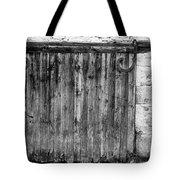 Barn Door Tote Bag by Georgia Fowler
