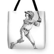 Baseball Kid Tote Bag by Murphy Elliott