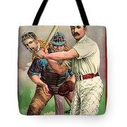 Baseball Player, C1895 Tote Bag by Granger