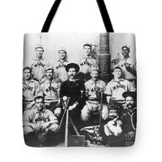 Baseball Team, C1898 Tote Bag by Granger