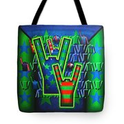 Basilea Star  Tote Bag by Mark Howard Jones