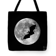 Bat Moon Tote Bag by Al Powell Photography USA