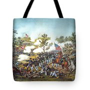 Battle Of Atlanta, 1864 Tote Bag by Granger