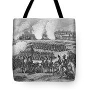 Battle Of Chapultepec Tote Bag by Granger