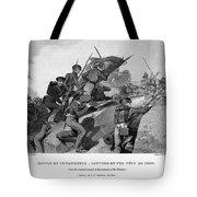Battle Of Churubusco, 1847 Tote Bag by Granger