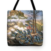 Battle Of Lookout Mount Tote Bag by Granger