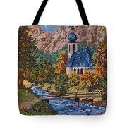 Bavarian Country Tote Bag by M and L Creations Craft Boutique